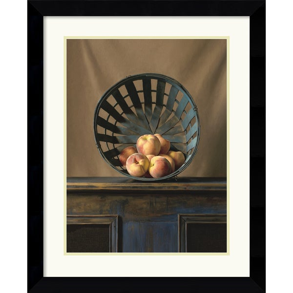 Ken Marlow 'White Peaches' Framed Art Print