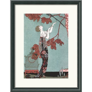 George Barbier 'Fashion Illustration, 1914' Framed Art Print