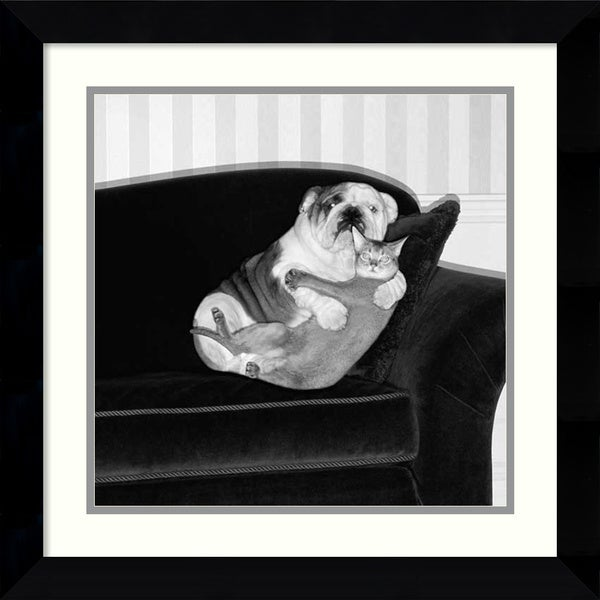 Howard Berman 'Forbidden Love' Framed Art Print