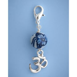 Fashion Forward Pewter Om Charm