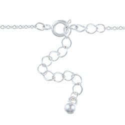 Silvertone Heart Lock and Key 'Love' Charm Necklace