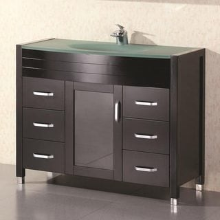 Design Element Cascade Modern Bathroom Vanity