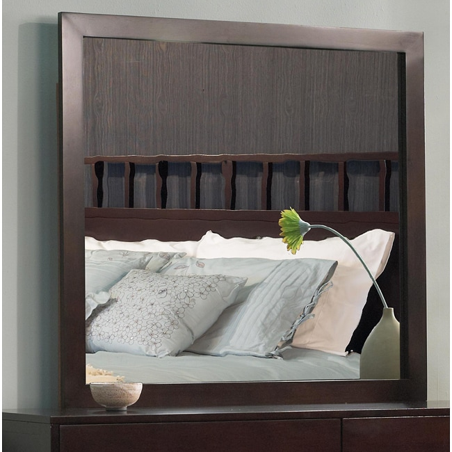 Dresser or Wall Mirror with Mitre Jointed Wood Frame