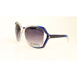 Airwalk Women's 'Bogus' Pink and Blue Oversized Sunglasses