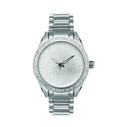 Joe Rodeo Women's Stainless Steel Diamond Watch