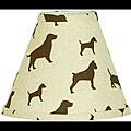 Cotton Tale Houndstooth Lamp Shade