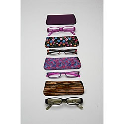 Women's Fashion Reading Glasses (Pack of 4)