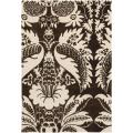 "Thomaspaul Brown/Ivory Floral Hand-Tufted New Zealand Wool Rug (7'9"" x 10'6"")"