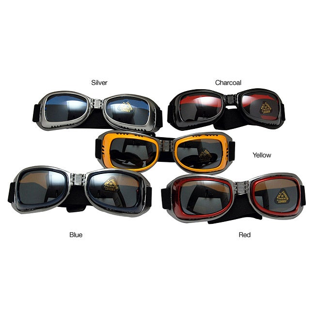 Eyewear Helmet-compatible Sports Goggles with Adjustable Straps