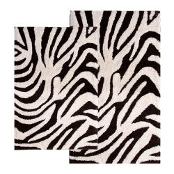 Safari Cotton Collection 2-piece Bath Rug Set