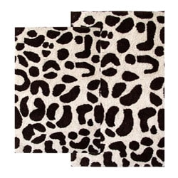 Wild Life Cotton 2-piece Bath Rug Set