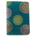 Leather Blue Circles Passport Cover (India)