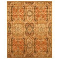 Hand-tufted Piazza Gold Wool Rug (3'6 x 5'6)