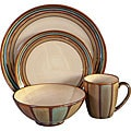 Sango Flair Brown 16-piece Dinnerware Set