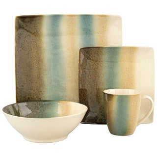 Sango Nouveau Teal 16-piece Dinnerware Set