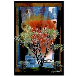 Miguel Paredes' Tree IV' Canvas Art
