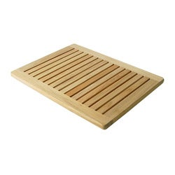 "Premium Plantation 23.6"" Teak Shower Mat"