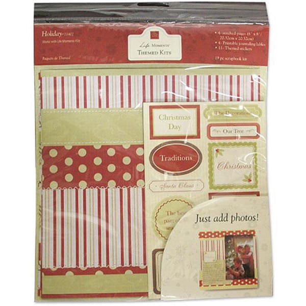 Chatterbox Holiday Themed Scrapbooking Kit