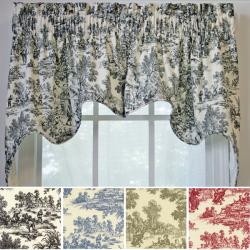Ellis Victoria Park 2-piece Swag Empress Valance