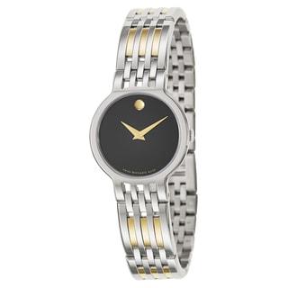 Movada Esperanza Women's Two-tone Watch