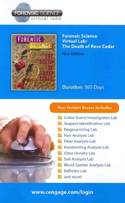 Forensic Science Virtual Lab Printed Access Card: The Death of Rose Cedar (Other merchandise)