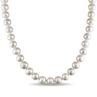 M by Miadora White 7.5-8mm Cultured Freshwater Pearl Necklace (18-24 inch)