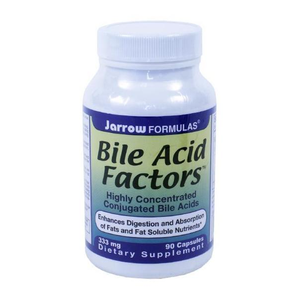 Jarrow Formulas 333-mg Bile Acid Factors
