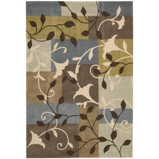 Nourison Hand-Tufted Contours Multicolor Area Rug (8' x 10'6