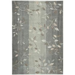 Nourison Hand-tufted Contours Stone Rug (5' x 7'6)