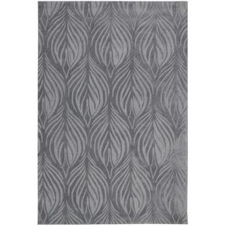 Nourison Hand-Tufted Contours Transitional Slate Rug (8' x 10'6