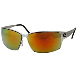 Airwalk Men's Yellow Kingpin Metal Aviators