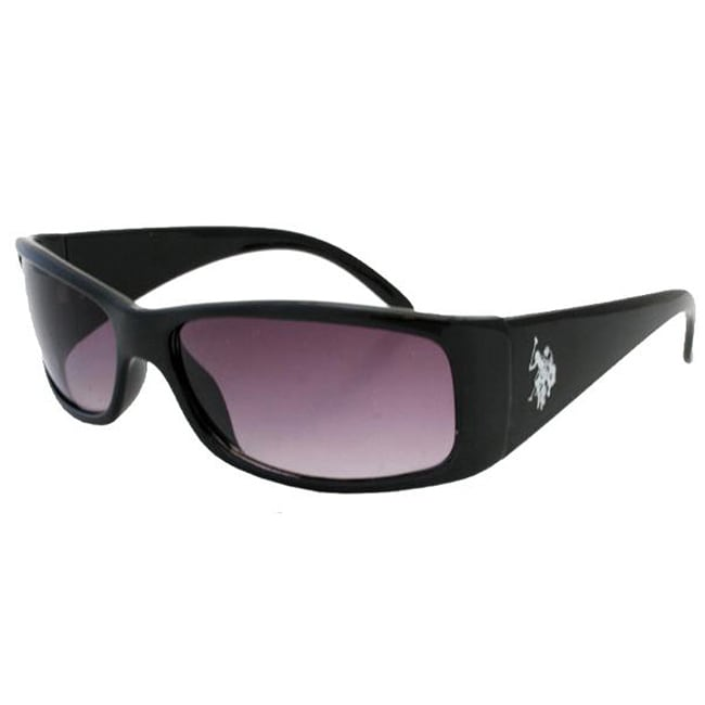 US Polo Men's 'Oceanside' Wrap Sunglasses