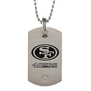 San Francisco 49ers Stainless Steel Dog Tag