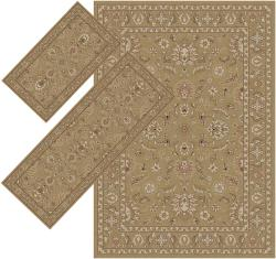 Appealing Brown Border Rugs (1'8 x 2'6) (1'10 x 5'4) (4'11 x 7')