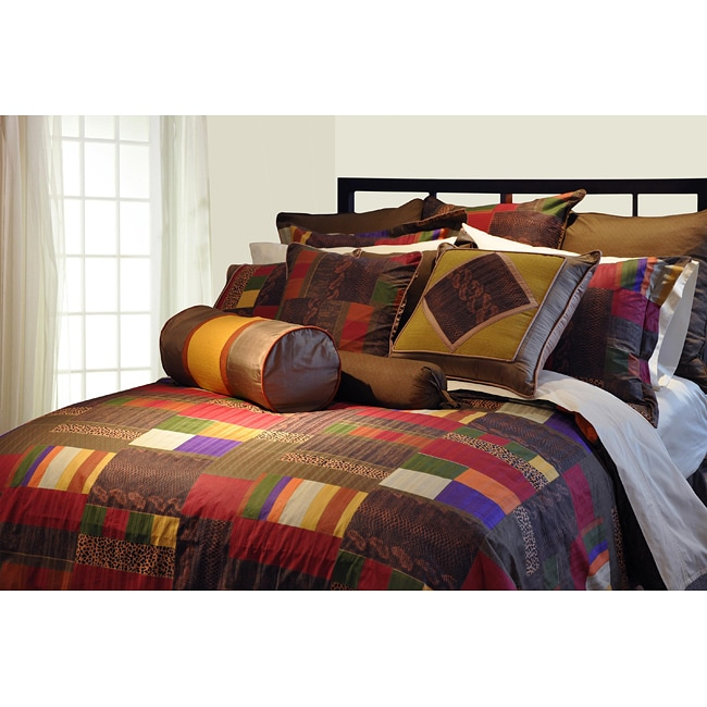marrakesh 12 piece queen size bed in a bag with sheet set. Black Bedroom Furniture Sets. Home Design Ideas