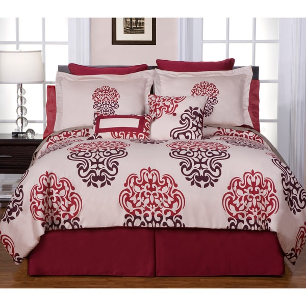 Cherry Blossom 12-piece Bed in a Bag with Sheet Set