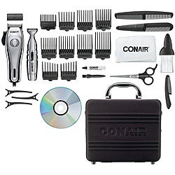 Conair HCT426GB Premium Chrome Clipper and Trimmer Kit