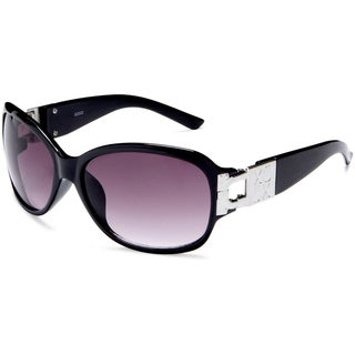 XOXO Women's Black Lockdown Sunglasses