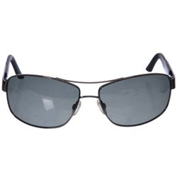 Bolle Quantum Men's Gunmetal Aviator Sunglasses