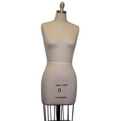 Size 14 Height-adjustable Professional Dress Form
