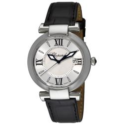 Chopard Women's 'Imperiale' Black Leather Strap Watch