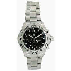 Tag Heuer Men's Aquaracer Stainless Steel Chronograph Watch