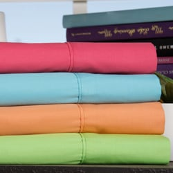 Jenny George Designs 200 Thread Count Cotton Blend Brights Sheet Set