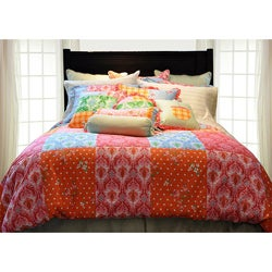 Clarrisa Queen-size 3-piece Duvet Cover Set