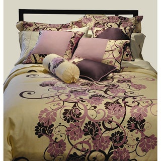 Grapevine Queen-size 3-piece Duvet Cover Set