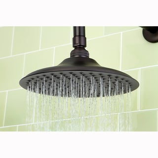 Victorian Oil Rubbed Bronze 8-inch Shower Head w/ Shower Arm