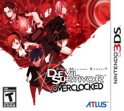 Nintendo 3DS - Shin Megami Tensei: Devil Survivor Overclocked - By Atlus