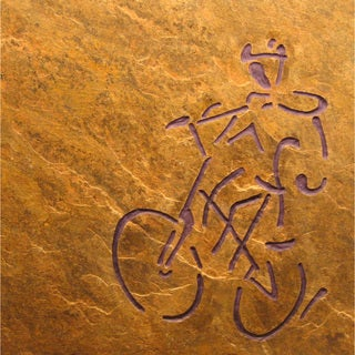 'The Cyclist' Cycling/ Bicycle Art to Inspire the Athlete - Gift for Cyclist