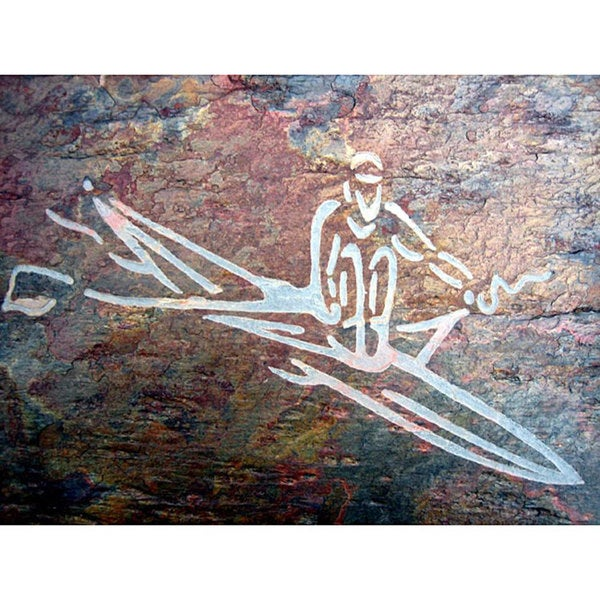 'The Rower' - Art to Inspire the Athlete/ Rowing Enthusiast - Gift for Rower