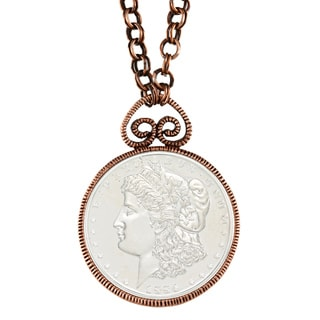 American Coin Treasures Morgan Dollar Replica Necklace
